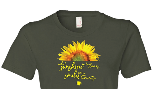 Sunshine & Sunflowers - Horizontal