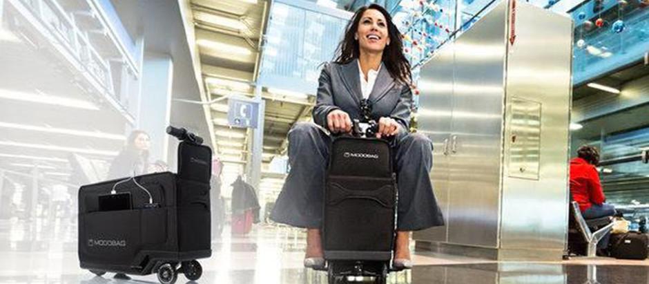 Futuristic suitcases