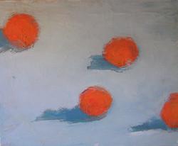4 naranjas