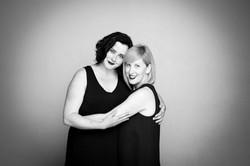 Ashley Comeau and Karen Parker