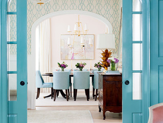 HOW TO USE BRIGHT COLOR TASTEFULLY IN YOUR HOME