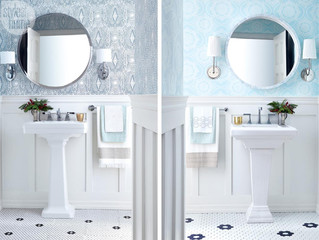 WHICH POWDER ROOM COST MORE?
