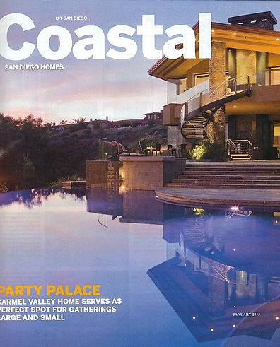 Home I helped remodel in Pacific Beach that was in the Media