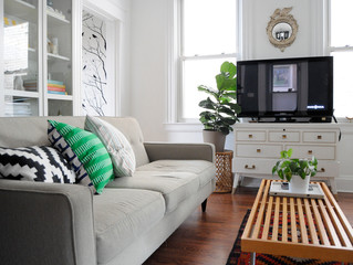 WHITE WALLS DON'T HAVE TO BE BORING