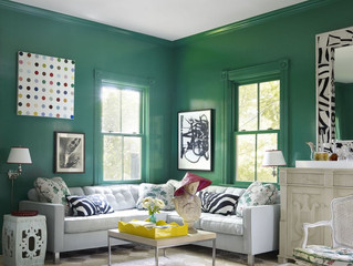 HOW TO MAKE GREEN YOUR MAIN ROOM COLOR