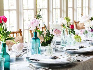 MOTHERS DAY TABLE SETTING IDEAS