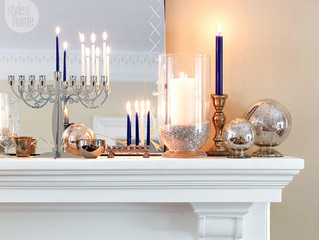 HANUKKAH DECORATING IDEAS