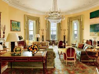 PRESIDENTS DAY- SEE THE PRIVATE ROOMS IN THE WHITE HOUSE