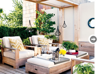 IS YOUR OUTDOOR SPACE READY FOR SUMMER?