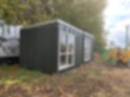 contemporary tiny homes