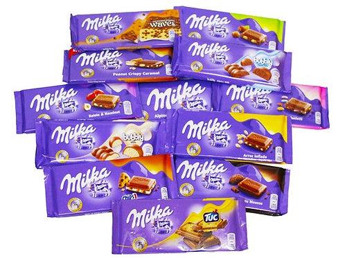 טבלת שוקולד מילקה