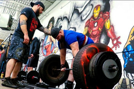 Powerlifting Meet at Upgraded Industires