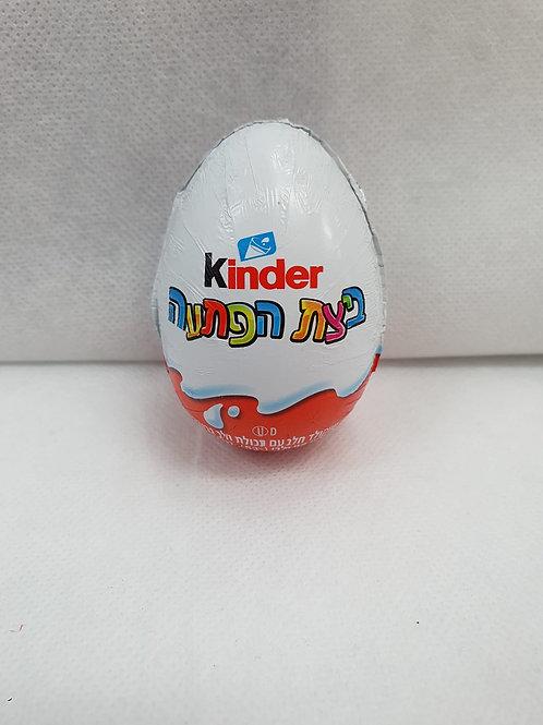 ביצת הפתעה קינדר