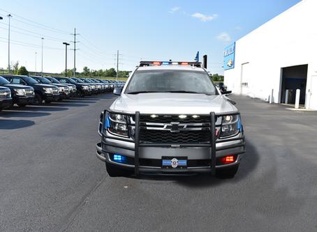 Why do Police drive SUVs?