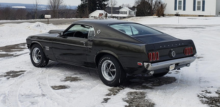 1969 Ford Mustang Boss 9
