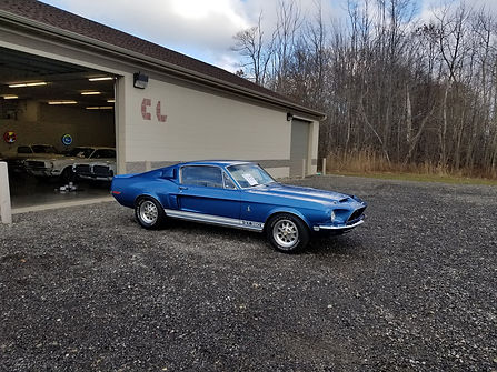 1968 Ford Mustang Shelby GT350 Fastback