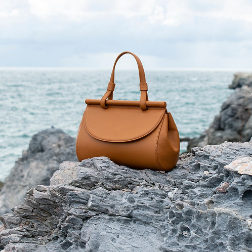 Marie leather bag | Tan