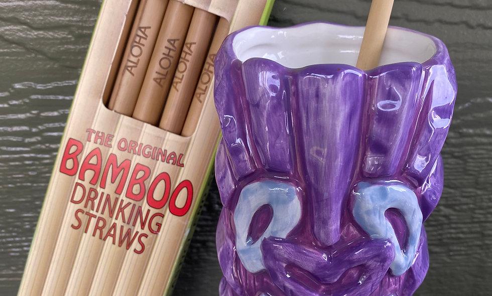 Bamboo Aloha Straws