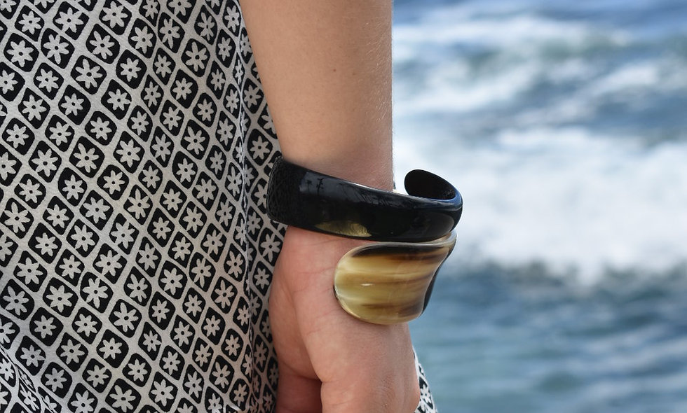 Buffalo Horn Bracelets