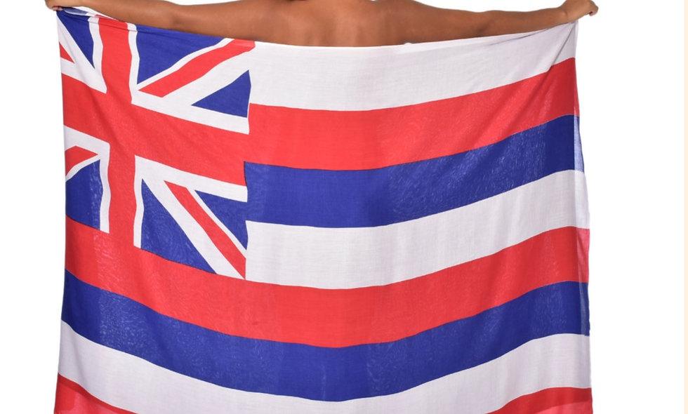 Hawai'i State Flag Sarong
