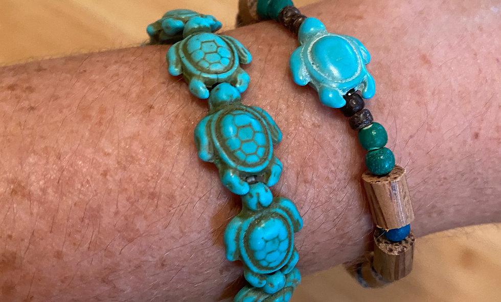 Turquoise Honu Bracelets