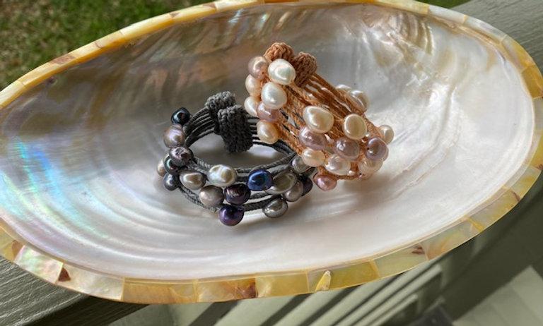 Freshwater Pearl Cuffs