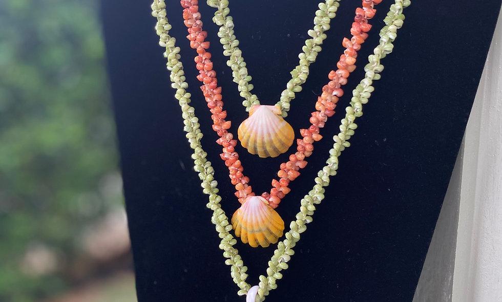 Kahelelani Shell Necklaces