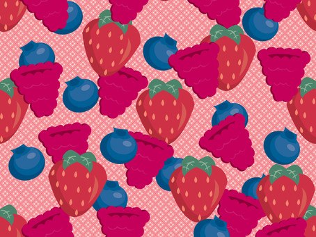 Daily Pattern Project - Berry Basket
