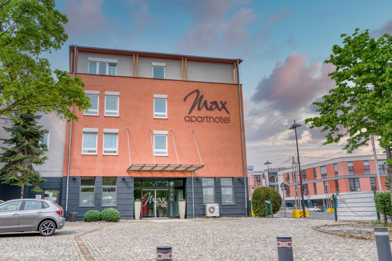 Max aparthotel -Außenansicht