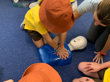 CPR to save a life
