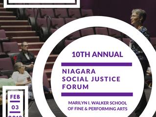 Niagara Social Justice Forum 2018