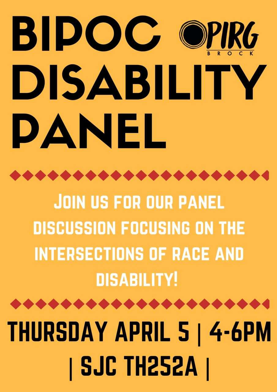 BIPOC Disability Panel Join us for our panel discussion focusing on the intersections of race and disability