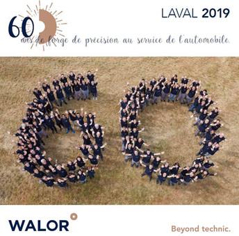60 ans Laval