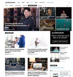 Front Page Alltopstartups.com