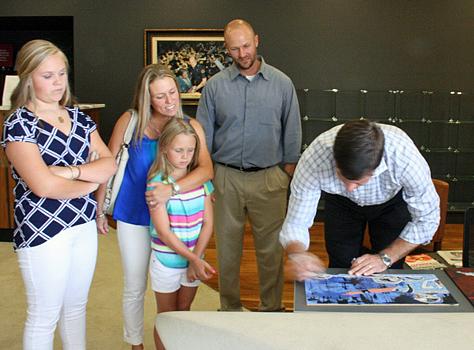 Jake Delhomme Signing