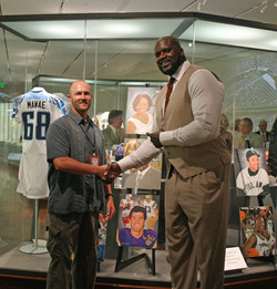 Chris With Shaq