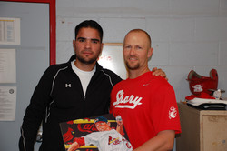 Chris with Jaime Garcia