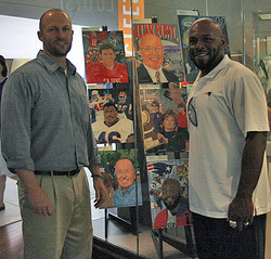 Chris With Kevin Faulk