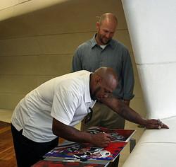 Kevin Faulk Signing
