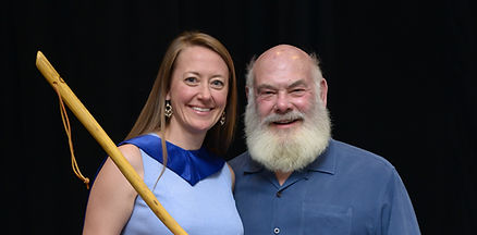 Nicole Cotter and Andrew Weil