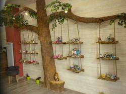 Arbre présentoire à chaussures