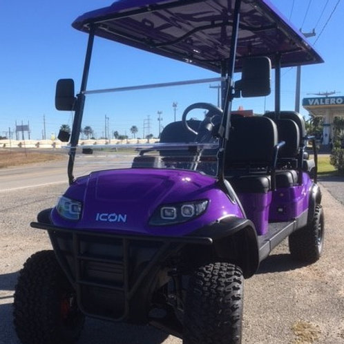 ICON 6 Seater  |  Lifted  |  Purple Metallic