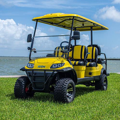 ICON i60L Tuscan Yellow  |  Two-Tone Seats