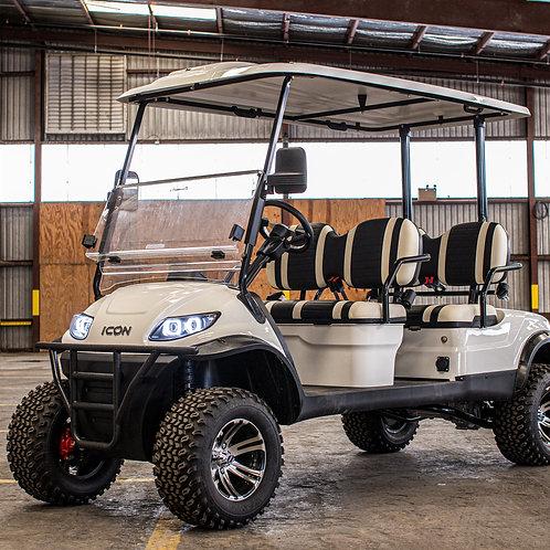 ICON i40F Lifted     Alpine White Metallic     White/Black Seats