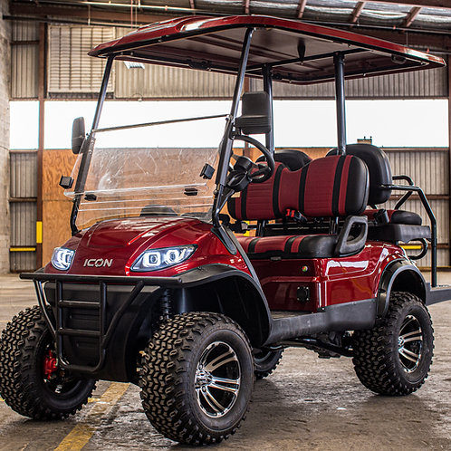 ICON i40 Lifted     Sangria Red Metallic     Red/Black Seats