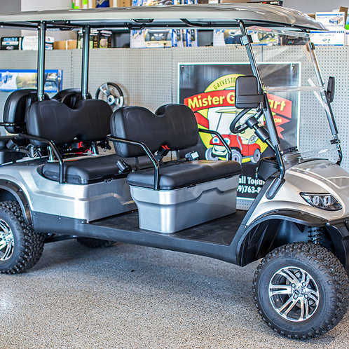 ICON i60L Silver / Black Seats