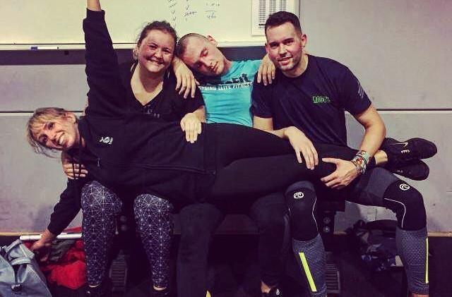 Everything is more fun together #crossfithoogvliet#wod#workoutoftheday#yoranslaapkop#britt