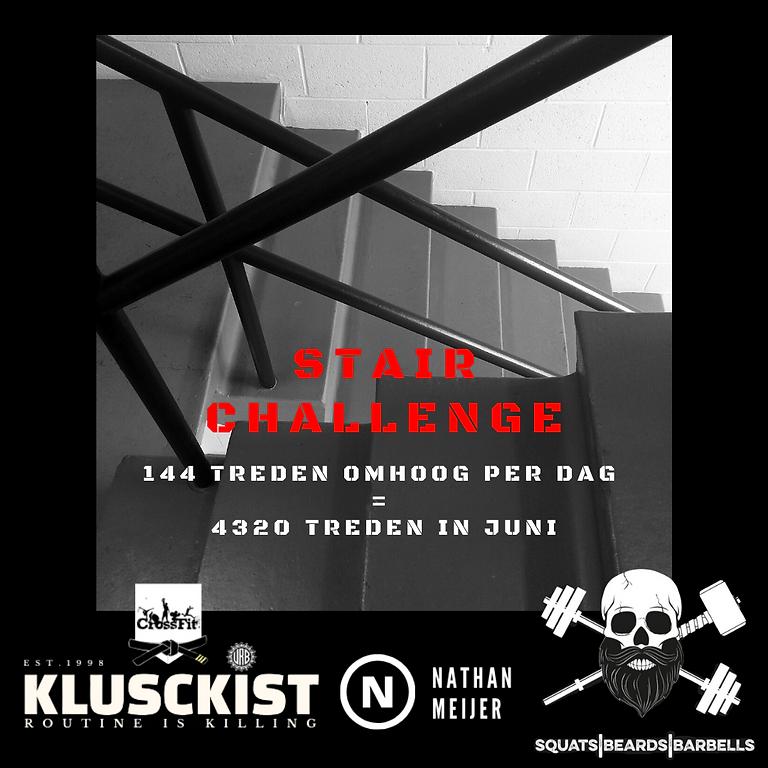 QuarantineFit MonthChallenge - StairChallenge