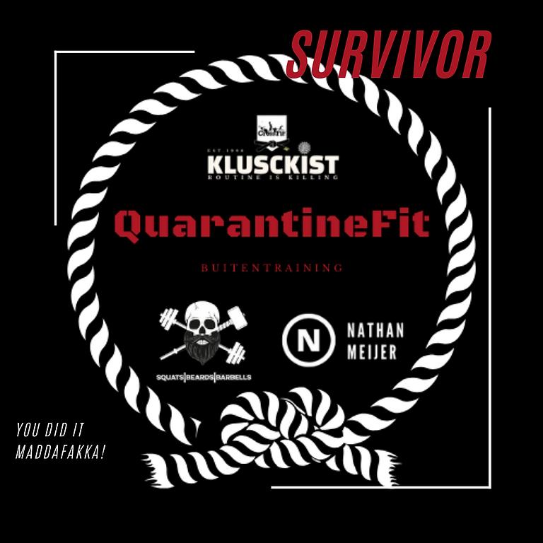 QuarantineFit Outdoor / Buitentrainingen