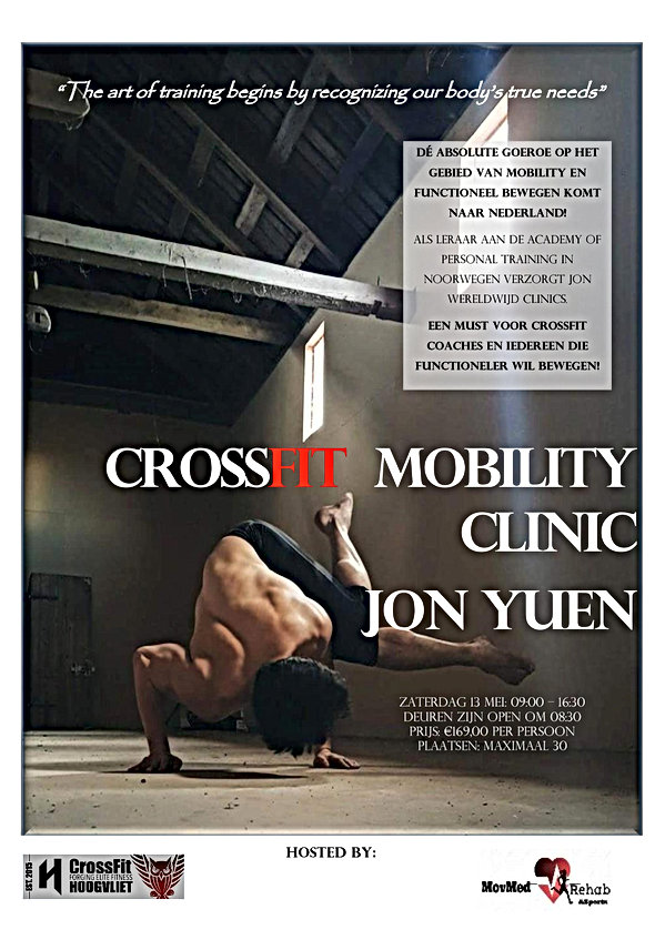 crossfit hoogvliet - mobility clinic